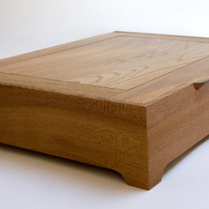 English Elm Box Closed