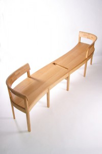 Gallery bench for the Graves Art Gallery