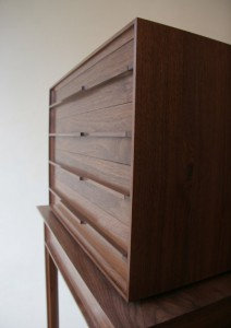 Walnut Cabinet Detail