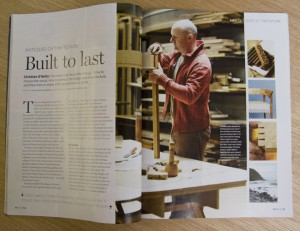 Homes and and Antiques article page 1