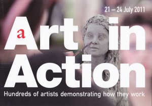 Flyer for art in action 2011