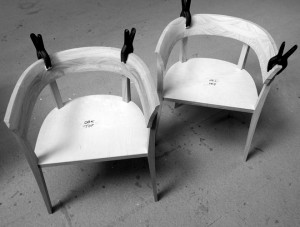 Alice chairs in progres