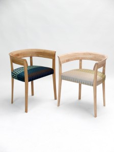 Image of the the ash and oak Alice chairs
