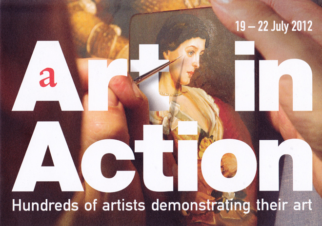 Flyer for Artin Action 2012
