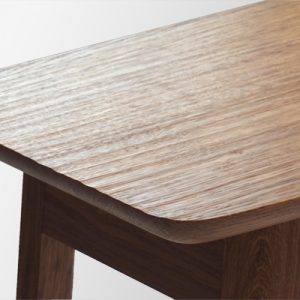 Brown Oak Console