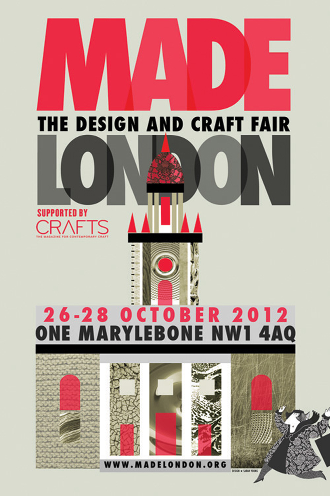 Flyer for Made London 2012