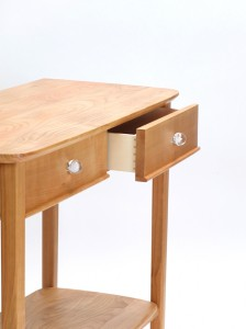 Image of English cherry console table