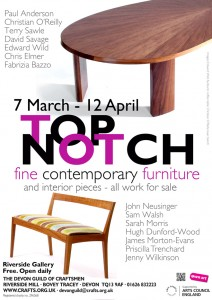 Poster fot the 'Top Notch' exhibition