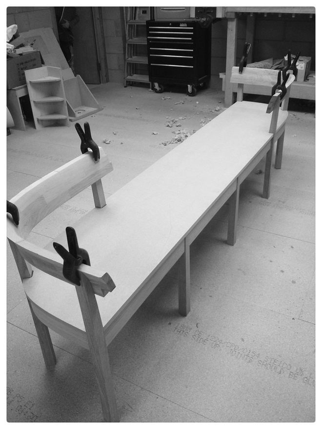 Bench dry fitted