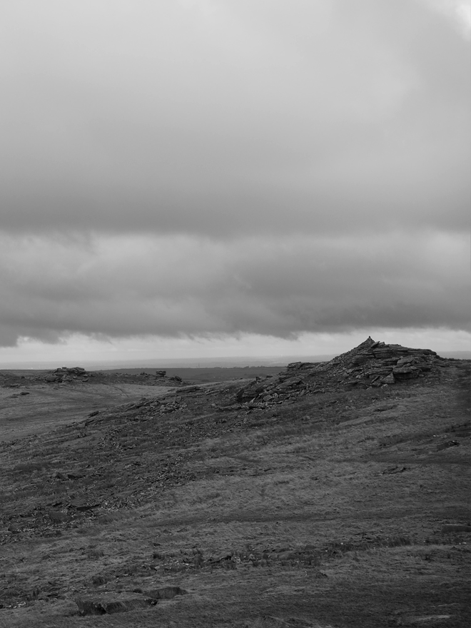 A photo across Rough Tor