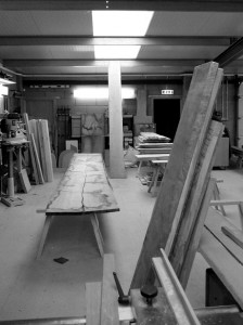 image of wood all around the workshop